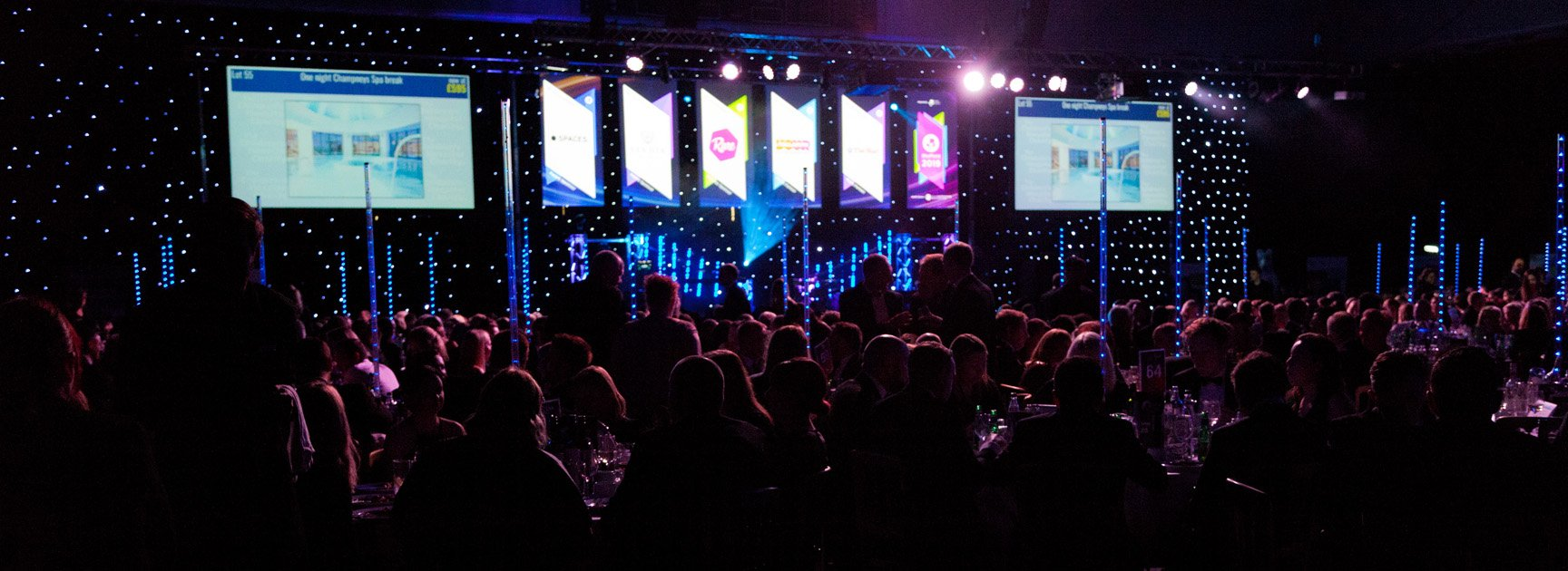 A photograph of Sheffield Business Awards 2019 by Antony Baker of Focussing On Photography