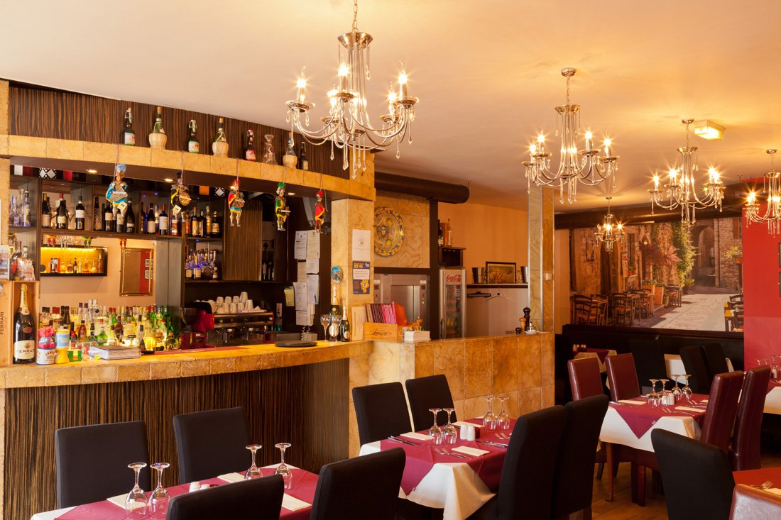 Restaurant interior Casanovas Crookes Sheffield